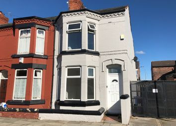Thumbnail 5 bed end terrace house for sale in Silverdale Avenue, Liverpool