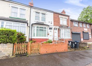 Thumbnail 3 bed terraced house for sale in Pelham Road, Saltley, Birmingham