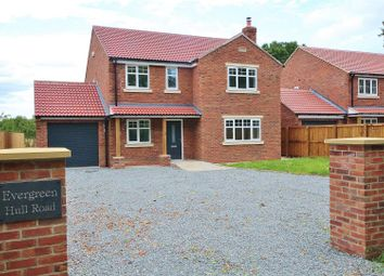 Thumbnail 4 bed detached house for sale in Hull Road, Hemingbrough, Selby