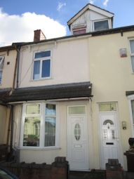 Thumbnail 3 bed terraced house to rent in Crowther Street, Wolverhampton