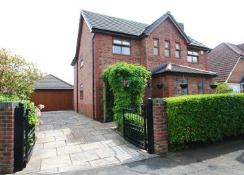 Thumbnail 4 bed detached house for sale in Poynton Close, Grappenhall, Warrington