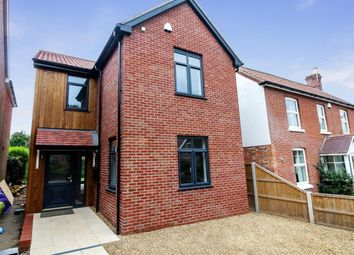 Thumbnail 3 bedroom detached house for sale in Park Road, Wroxham, Norwich