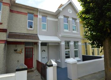 Thumbnail 4 bed terraced house for sale in Edith Avenue, Plymouth, Devon