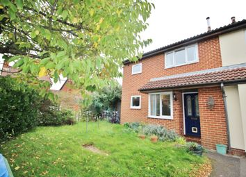 Thumbnail 1 bed end terrace house for sale in Wild Rose Crescent, Locks Heath, Southampton