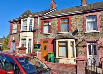 Thumbnail 3 bed terraced house for sale in Rosser Street, Pontypridd