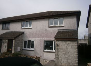 Thumbnail 2 bed end terrace house to rent in Barton Road, Treviscoe, St Austell, Cornwall