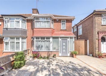 Thumbnail 3 bed semi-detached house for sale in Peareswood Gardens, Stanmore, London