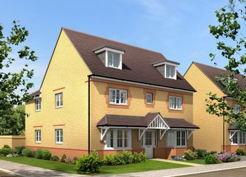 "Thumbnail 5 bed detached house for sale in ""Stratford"" at Lanelay Road, Talbot Green, Pontyclun"