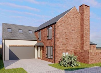 Thumbnail 4 bed detached house for sale in Plot 5, Moorcroft Farm, Crowle