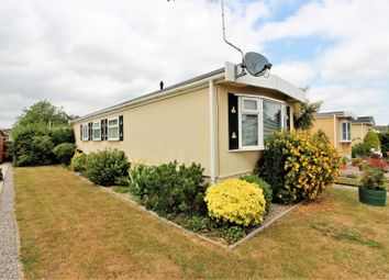 Thumbnail 2 bedroom mobile/park home for sale in Pound Cottages, Bloomsbury Close, Oulton, Lowestoft
