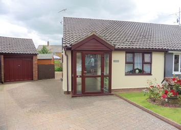Thumbnail 2 bedroom semi-detached bungalow for sale in 8 Wigg Road, Fakenham