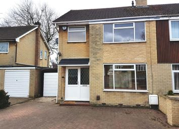 Thumbnail 3 bedroom semi-detached house to rent in Gregory Crescent, Harworth, Doncaster