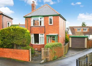 Thumbnail 3 bed detached house for sale in Harlow Crescent, Harrogate
