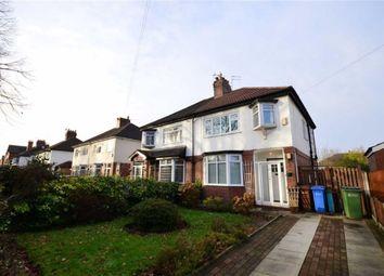 Thumbnail 3 bedroom semi-detached house to rent in Queens Drive, Heaton Moor, Stockport