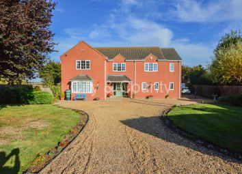 Thumbnail 4 bed detached house for sale in Back Bank, Whaplode Drove, Spalding