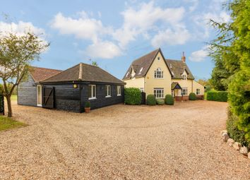 Thumbnail 4 bed detached house for sale in The Street, Great Wratting, Haverhill
