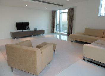Thumbnail 3 bedroom flat to rent in Pan Peninsula, Canary Wharf, London