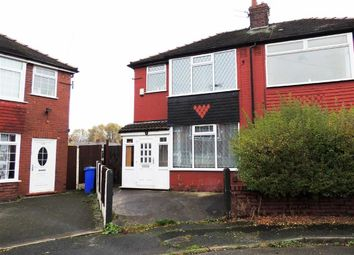 Thumbnail 3 bedroom semi-detached house for sale in Fowler Avenue, Abbey Hey, Manchester