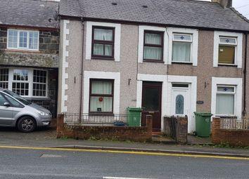 Thumbnail 3 bed terraced house for sale in Caeathro, Caernarfon