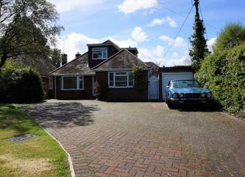 Thumbnail 5 bed detached bungalow for sale in Gally Hill Road, Fleet