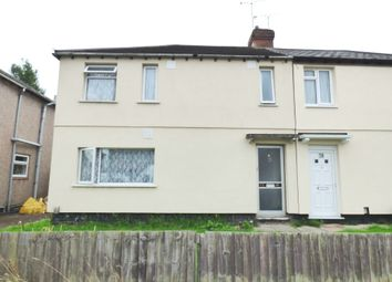 Thumbnail 3 bedroom semi-detached house for sale in Houldsworth Crescent, Holbrooks, Coventry