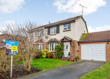 Thumbnail 3 bed semi-detached house for sale in Middleleaze Drive, Swindon, Wiltshire