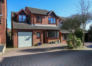 Thumbnail 4 bed detached house for sale in Avonwick Grove, Birches Head, Stoke-On-Trent