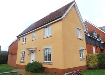 Thumbnail 3 bed terraced house to rent in Phoenix Way, Stowmarket, Suffolk