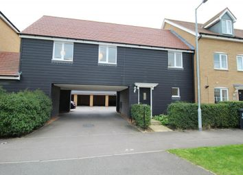 Thumbnail 2 bed flat to rent in Summers Hill Drive, Papworth Everard, Cambridge