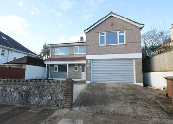 Thumbnail 4 bed detached house for sale in Rockingham Road, Plymouth