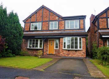 Thumbnail 5 bed detached house for sale in Lymewood Drive, Wilmslow