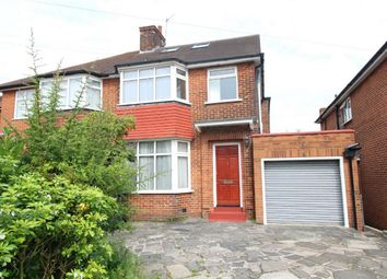 Thumbnail 4 bed semi-detached house to rent in Lonsdale Drive, Enfield, Middx