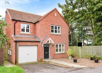 Thumbnail 4 bed detached house for sale in Low Medstone Drive, Easingwold, York