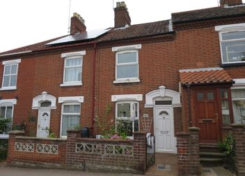 Thumbnail 2 bedroom terraced house to rent in Silver Road, Norwich