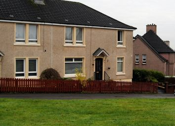 Thumbnail 2 bed flat for sale in Glebe Crescent, Airdrie