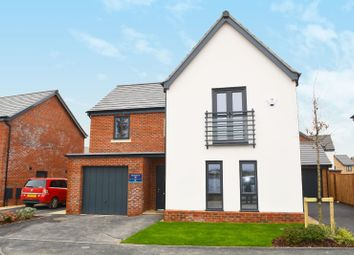 Thumbnail 4 bed detached house for sale in Glebelands Park, Ashton Green, Leicester
