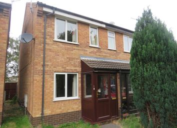 Thumbnail 2 bed semi-detached house for sale in Kelstern Close, Lincoln