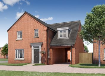 Thumbnail 4 bedroom detached house for sale in Hospital Road, Little Plumstead, Norwich