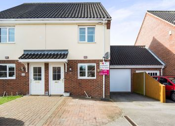 Thumbnail 3 bed town house for sale in Lumsden Close, Bradwell, Great Yarmouth