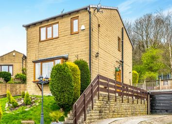 Thumbnail 3 bed detached house for sale in Roselee Close, Siddal, Halifax
