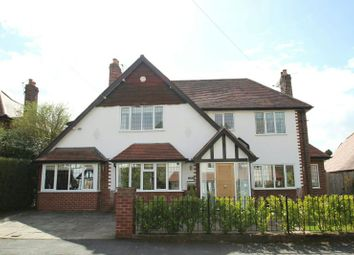 Thumbnail 4 bed detached house for sale in Castleway, Hale Barns, Altrincham
