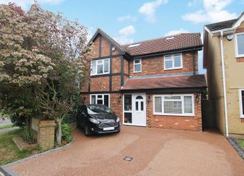 Thumbnail 5 bed detached house for sale in Fowler Close, Maidenbower, Crawley, West Sussex.