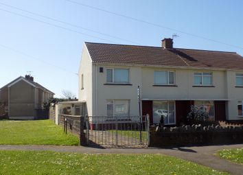 Thumbnail 3 bed semi-detached house for sale in Lake Road, Little Warren, Port Talbot, Neath Port Talbot.