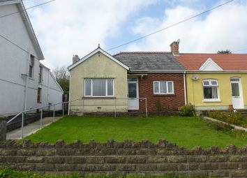 Thumbnail 2 bed semi-detached bungalow for sale in Saron Road, Capel Hendre, Ammanford, Carmarthenshire.