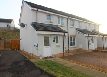 Thumbnail 2 bedroom end terrace house for sale in Canalside Drive, Falkirk