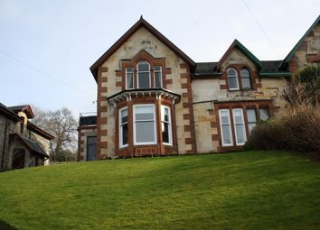 Thumbnail 3 bed flat for sale in 4 Crichton Road, Isle Of Bute, Rothesay