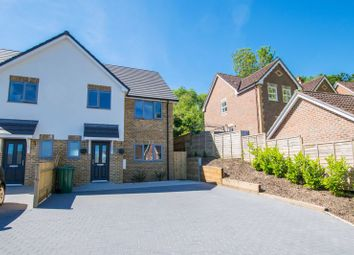 Thumbnail 3 bed semi-detached house for sale in New Barn Lane, Ridgewood, Uckfield