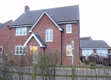 Thumbnail 4 bed detached house for sale in Moat Close, Newbold Verdon, Leicester