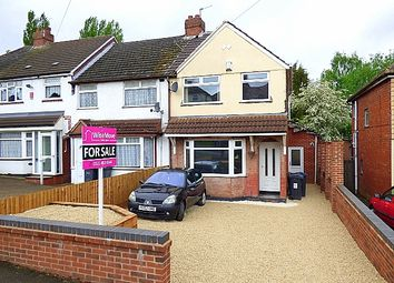 Thumbnail 3 bed end terrace house for sale in Coombes Lane, Longbridge
