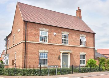 Thumbnail 4 bed detached house for sale in Baker Grove, Ibstock